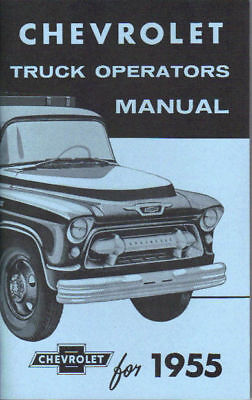 1955 Chevrolet Truck Light-heavy Duty Owner's Manual