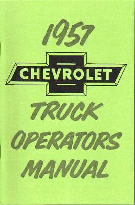 1957 Chevrolet Truck Light-heavy Duty Owner's Manual