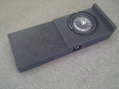 2004 2008 ford f150 supercrew custom subwoofer box kicker. Black Bedroom Furniture Sets. Home Design Ideas