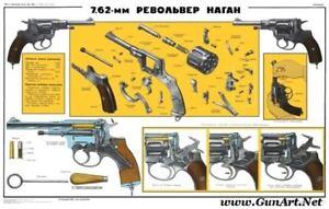 LQQK-Russian-Soviet-1895-Nagant-Revolver-Poster