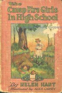 VINTAGE-The-CAMP-FIRE-Girls-in-High-School-Book-by-Helen-Hart-Art-Alice-Carsey