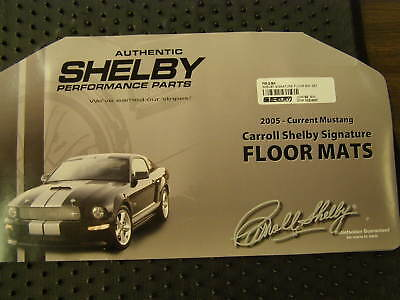 2007 Ford Mustang Gt Floor Mats