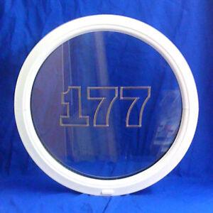 uPVC PVC Plastic Round Porthole Circle Circular Window
