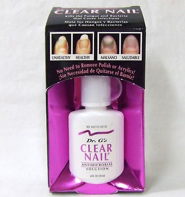 Dr. G's Clear Nail Anti Fungus Treatment Nail/toes .6oz/18ml