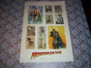 Indiana-Jones-Memorial-Day-Mini-Promo-Poster-20-034-Rare