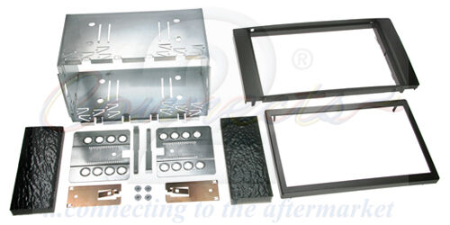Ford Fiesta Mk6 02-08 Doppel Din Stereo Verkleidung Montage Set CT23FD01