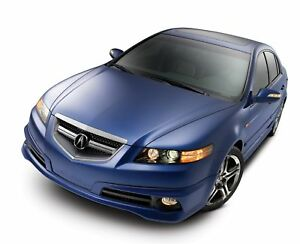 new 2007 2008 acura tl type s a spec body kit front lip. Black Bedroom Furniture Sets. Home Design Ideas