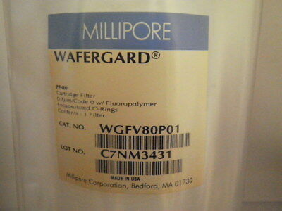Qty1 Millipore Wgfv80p01 Wafergard Filter Cartridge -new- 60 Day Warranty