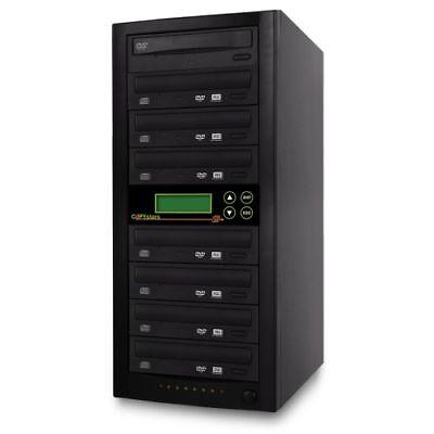 Cd Dvd Duplicator 20x 1-7 Copy Dual Burner Copier Tower