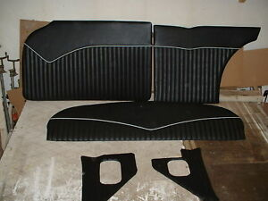 55,56,57 CHEVY CUSTOM  INTERIOR  GASSER PANELS HOT ROD