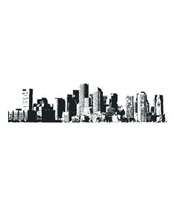 Image Is Loading City Skyline New York Vinyl Wall Sticker Decal  Part 96