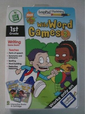 Leapfrog Leappad Plus Writing Wild Words Games