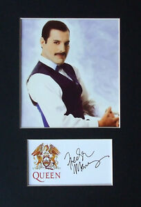 Freddie-Mercury-Signed-Mounted-Photo-Display-Queen