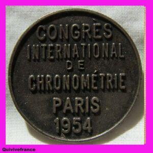 BG1951-CONGRES-INTERNATIONAL-CHRONONMETRIE-PARIS-1954