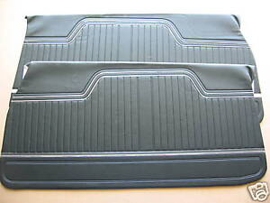 70 71 72 Chevelle El Camino Unassembled Door Panels