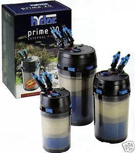 Pompe ext rieur prime 10 aquarium filtre 300l h ebay for Filtre exterieur aquarium