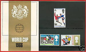 1966 World Cup Football Championship Presentation Pack