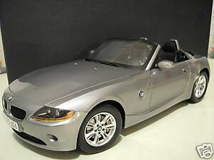 BMW-Z4-cabriolet-convertible-gris-1-12-KYOSHO-80430144061-voiture-miniature-coll