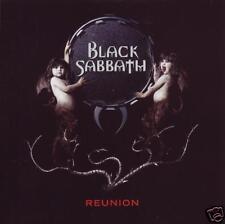 BLACK SABBATH (2 CD) REUNION ~ OZZY OSBOURNE~TONY IOMMI~GEEZER BUTLER *NEW*