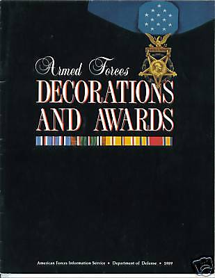 Decorations And Awards, Armed Forces (full Color)(1989)