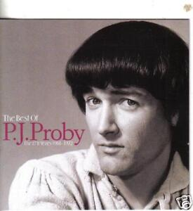 THE BEST OF P J PROBY - EMI YEARS 1961-1972  CD - NEW
