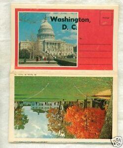 Old-Postcard-Folder-Washington-District-of-Columbia