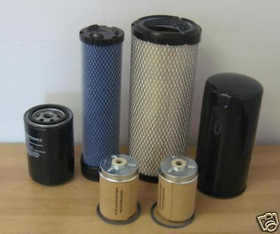 Mahindra Tractor Economy Pack Of 6 Filters -0455.0456.1778.1778.3427.0316