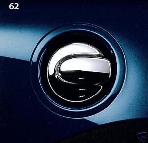 MINI-Cooper-Clubman-Hardtop-07-Up-Chrome-Fuel-Filler-Gas-Tank-Cap-Retrofit-OEM