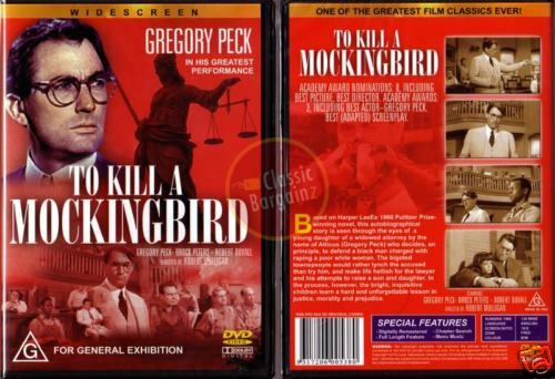 TO KILL A MOCKINGBIRD * NEW DVD * Gregory Peck Robert Duvall Harper Lee classic