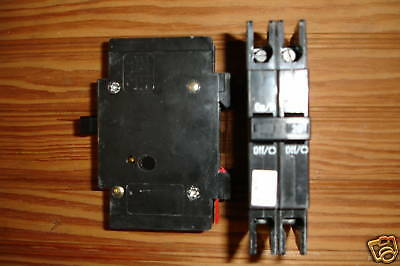 Cutler Hammer Qcr 2 Pole Circuit Breaker 20 Thur 50 Amp
