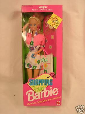 Mattel Barbie Doll Meijer Shopping Fun Barbie 10051