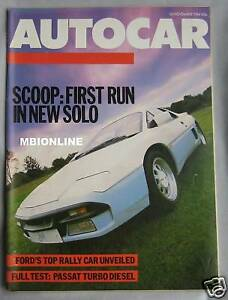 Autocar-14-11-1984-featuring-Panther-Solo-Ford-RS200