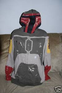 New Men's Star Wars Limited  Marc Ecko Boba Fett Rare Hoody  XL