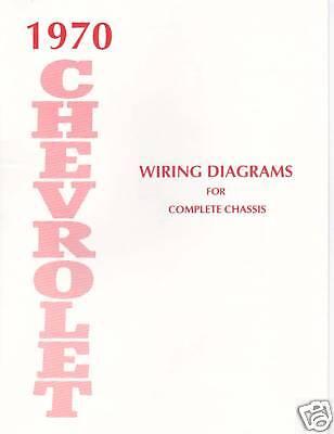 1970 Chevrolet Wiring Diagram Manual