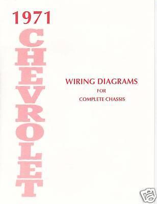 1971 Chevrolet Wiring Diagram Manual