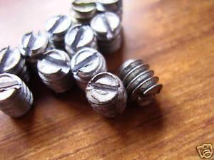 10-Replacement-Grub-Screws-for-old-door-knobs-vintage-victorian-brass-bakelite