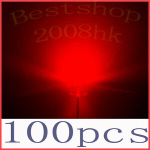 100-pcs-5mm-straw-hat-Red-LED-Wide-Angle-20000MCD