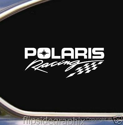 Snowmobile Atv Racing Decals-stickers Polaris 2 Decals 1 Price S-001