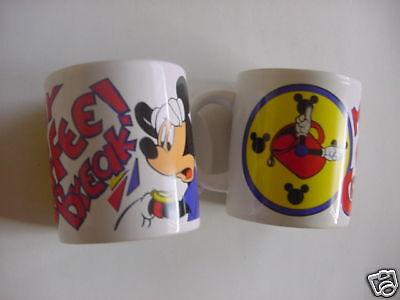 Disney Kaffeetasse Kaffeebecher Mickey Maus  Neuware