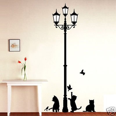 KITTIES ★ CAT WALL DECOR DECAL STICKER REMOVABLE VINYL on Rummage (1/2)