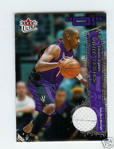 2002-03-Ultra-O-Game-Used-Jersey-Vince-Carter