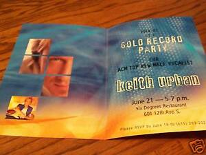 Keith-Urban-Gold-Record-Party-Invitation-2001