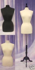 Female-Hard-foam-Size-6-8-Mannequin-Dress-Form-F6-8W-BS-02BKX-1-Black-Cover
