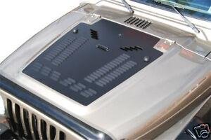 Jeep Tj Wrangler Louvered Hood Panel Jeep Hood Vents