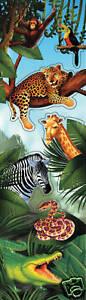 8-Dschungel-Safari-Sticker-Kindergeburtstag