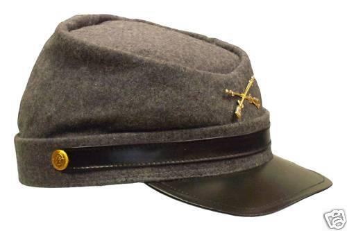 SÜDSTAATENMÜTZE Südstaaten Mütze Hut Uniform Südstaatler Cap Kappe Neu