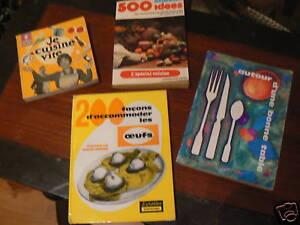 Lot de 4 anciens livre de cuisine ebay for Anciens livres de cuisine