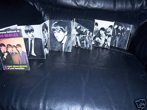 ORIGINAL1963-THE-BEATLES-PIXERAMA-12-BLACK-AND-WHITE-PICTURES-IN-BOOK
