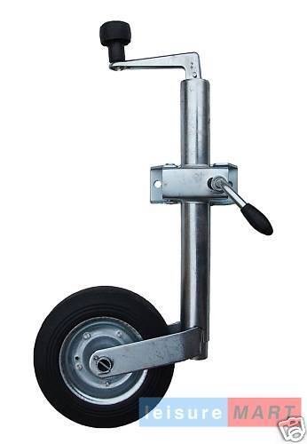 42mm Medium duty jockey wheel & clamp trailer caravan