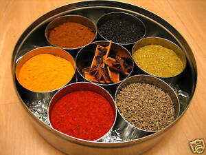 Indian Spice Refills For Spice Tin Masala Box 10 Spices